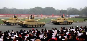 T-90 Tanks at the parade