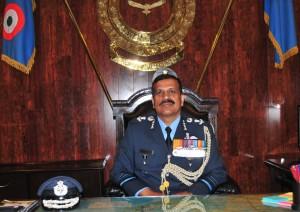 Air Marshal SBP Sinha AVSM VM Takes over As AOC-in- C Central Air Command (1)