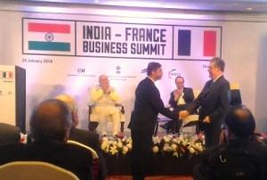 Caption S. P. Shukla, Group President, Aerospace and Defence, Mahindra &...