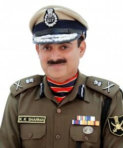 KK Sharma DG BSF