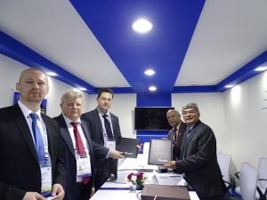 BEL-Rosoboroneexport MoU at Defexpo 2016